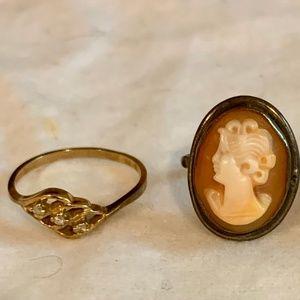 Jewelry - BUNDLE: 3 Women's Rings Size 6